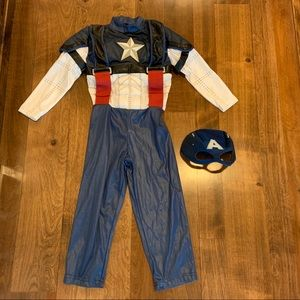 Disney Store Captain America Costume Size 4